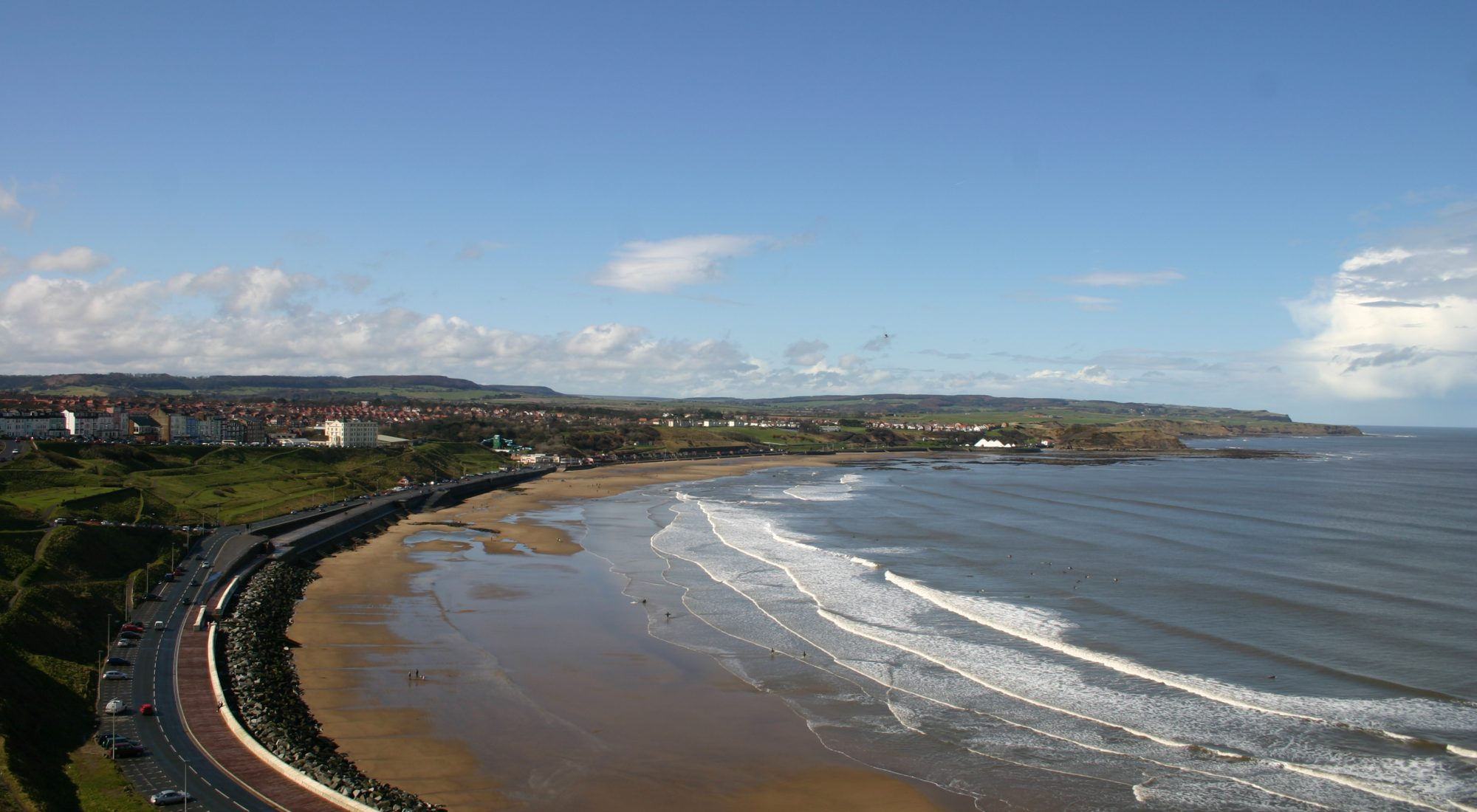 The North Bay, Scarborough, North Yorkshire.
